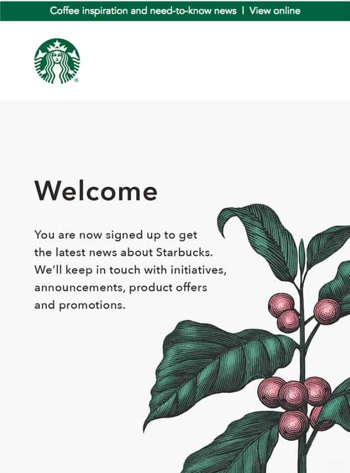 starbucks the best email marketing campaign